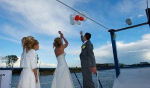 Trouwen op een boot - huwelijksbootje