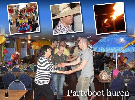Partyboot huren